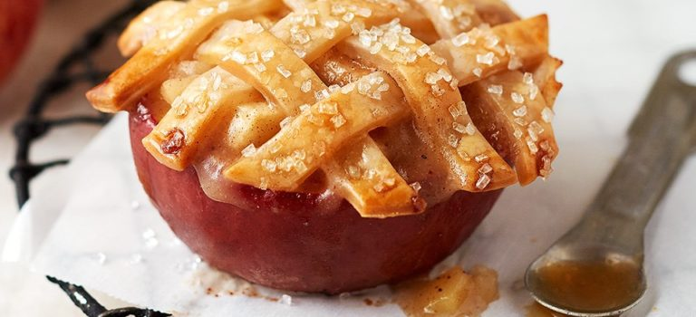 Apple Pie In An Apple