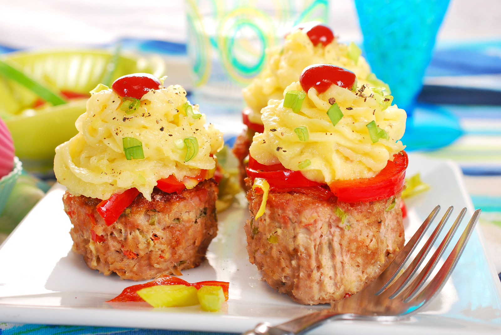 Cheeseburger Mini-Meatloaves
