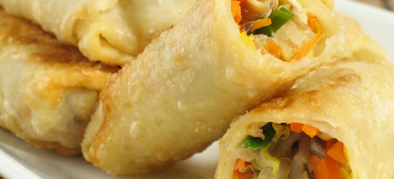 Unusual Egg Rolls Made Healthier
