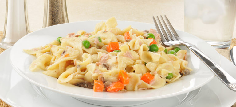Lighten Up Tuna Noodle Casserole