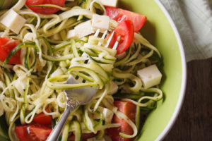 Spiralizing Vegetables for Paleo Noodles
