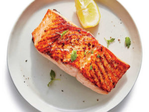 Easy Broiled Salmon with Lemon