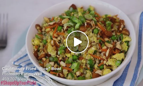 Cauliflower Rice Bowl